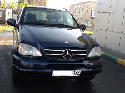 фото автомобиля Mercedes-Benz ML 320 г. Москва