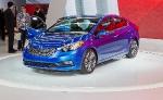 Компания Kia представила свое новейшее поколение автомобилей Kia Forte 2014