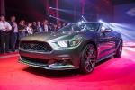Новый Ford Mustang на автосалоне в Москве