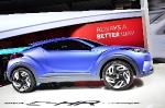 В Париже появился новый кроссовер, который привезла Toyota
