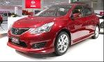 Производство Nissan Tiida проходит  в Ижевске