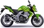 Kawasaki подготовил новую расцветку для мотоцикла Z750