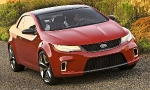 Новая разработка южнокорейского производителя – двухдверный автомобиль Kia Optima Koup