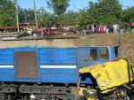 В Российской Федерации произошло столкновение автобуса и товарняка, есть жертвы