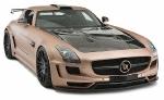 Тюнер Hamman Hawk подарил суперкару Mercedes SLS AMG хищный редизайн