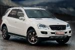 Над Mercedes-Benz ML поработали болгарские тюнеры