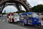 Во Франции появились бесплатные моторикши