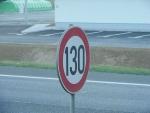 Скоростной лимит 130 км/ч пока отложен